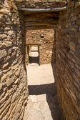 Narrow Passages at Chaco Canyon  — Stock Photo