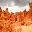Storm Clouds Over Navajo Loop Trail in Bryce Canyon — Stock Photo #51057889