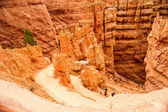 Navajo Loop Trail in Bryce Canyon — Stock Photo