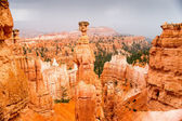 Spectacular Bryce Canyon as a Storm Approaches — 图库照片