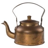 Metal kettle — Stock Photo