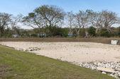 Dry Retention Pond — Stock Photo
