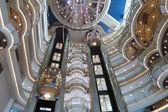 Cruise ship Atrium — Stock Photo
