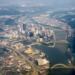 Pittsburgh Aerial — Stock Photo