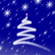 Christmas Background with Ornaments — Stock Photo #2777121
