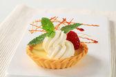 Custard tart — Stock Photo
