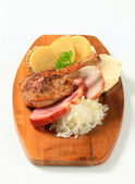 Traditional Czech cuisine — Stock Photo