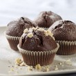 Chocolate muffins — Stock Photo #12826173