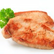 Pan seared pork cutlets — Stock Photo