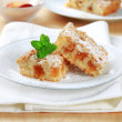 Stock Photo: Apple crumb cake