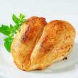 ������, ������: Roasted chicken breasts