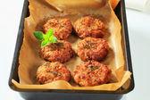 Vegetable patties — Stock Photo
