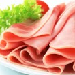 Sliced ham — Stock Photo #14099111