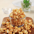 Toffee popcorn — Stock Photo