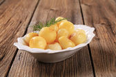 Parisian potatoes (Pommes Parisienne) — Stock Photo