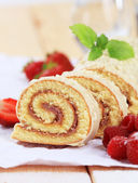 Swiss roll — Stock Photo