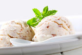 Stracciatella ice cream — Stock Photo