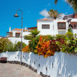 Spanish style villas - Stock Photo
