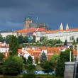 Prague Castle and St. Vitus cathedral — Stock Photo