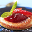 Pancake with jam — Stock Photo #20830493