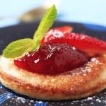 Pancake with jam — Stock Photo #20830493