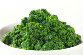 Chopped spinach — Stock Photo
