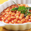 Baked beans — Stock Photo #23632525