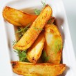 Stock Photo: Potato wedges