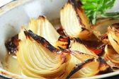 Cebola assada de panela — Foto Stock