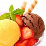 Ice cream sundae — Stock Photo #25448635