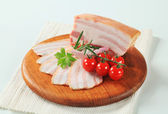 Slab of pork belly — Stock Photo
