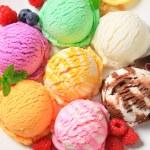 Assorted ice cream — Stock Photo #26090699