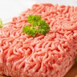 Stock Photo: Raw ground pork