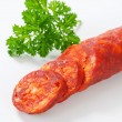 Stock Photo: Spicy sausage