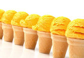 Ice cream cones — Stock Photo