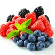 Stock Photo: mixed berries