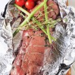 Stock Photo: Thyme beef tenderloin