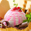 Ice cream sundae — Foto de Stock