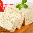 Block of tofu — Stockfoto