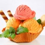 Zmrzlinový dezert — Stock fotografie
