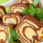 Marble cake — Stock Photo #28353261