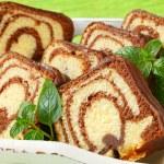 Marble cake — Stock Photo #28353275
