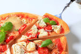 Pizza quattro formaggi — Stock Photo
