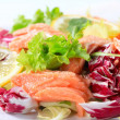 Smoked trout salad — Stock Photo #28944795