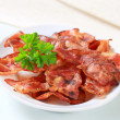 Crispy bacon strips — Stock Photo