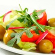 Fresh vegetable salad  — Stock Photo