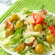 Summer salad — Stock Photo