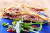 Ham and cheese toasties — Stock Photo