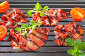 Grilled pork neck meat — Stock Photo
