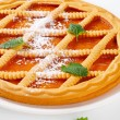 Lattice topped apricot crostata — Stock Photo #30255595